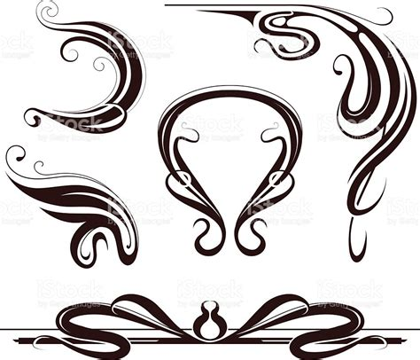 design art nouveau art nouveau design elements stock vector art more images