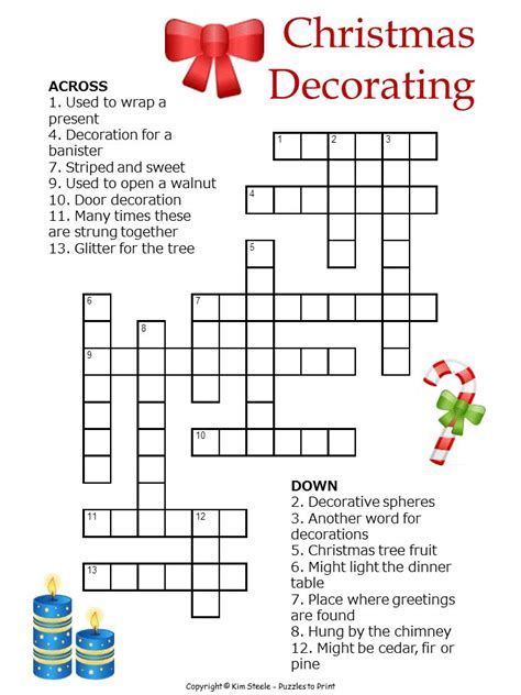 printable christmas quizzes and puzzles printable christmas puzzle this one is a crossword that