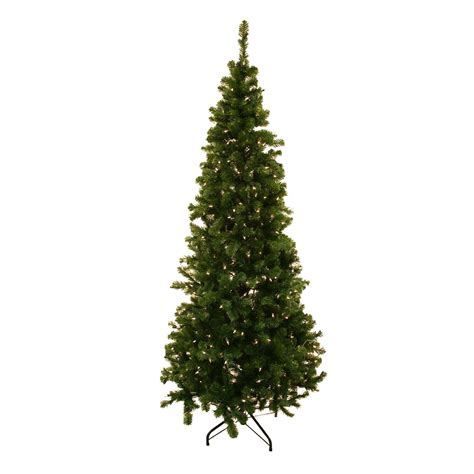 steins artificial trees tahoe slim 6 5 ft w clear lights o tannenbaum imports stein s garden home