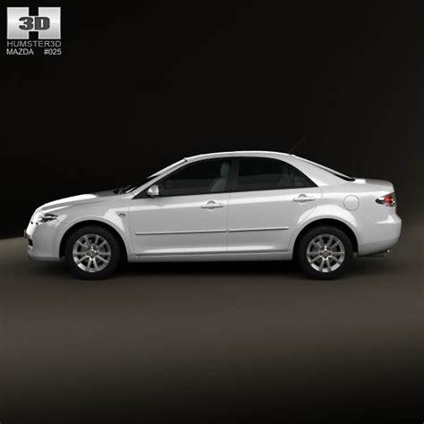 mazda sedan models mazda 6 sedan 2002 3d model hum3d