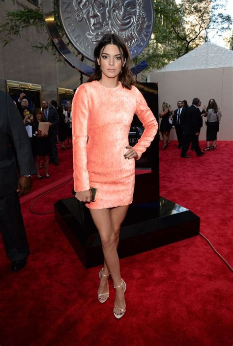 kendall jenner leads the worst dressed in bizarre orange