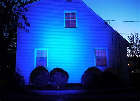 Delightful Christmas Lights That Change Color #4: Blue-Flood-Light-1024x740.jpg