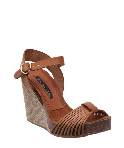 wedge sandals sale pied a terre leather wedge sandals designer
