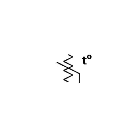 nonlinear resistor symbol thermistor nonlinear