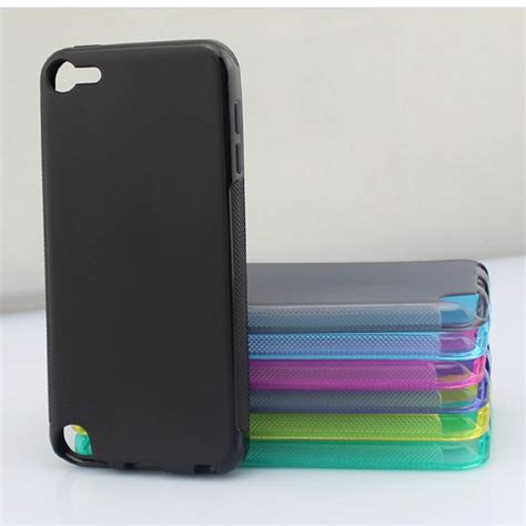 ultra thin tpu for ipod touch 5 green
