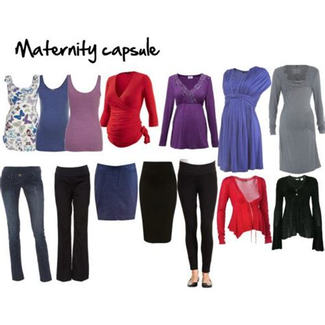 wardrobe capsules for your maternity inside out style