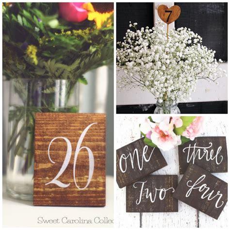 rustic wedding table numbers rustic wooden table numbers rustic weddings