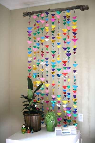 diy recycled decoration idea for hang on ceiling 36 birthday decor ideas
