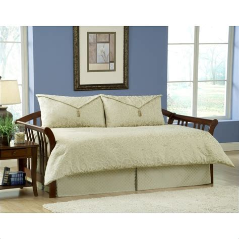 Daybed Comforter Sets Southern Textiles Impressions 4 Daybed Bedding Set In Olive Green