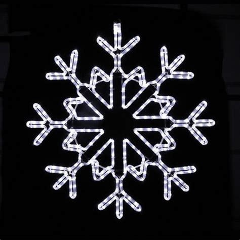 30 inch snowflake led light display with of twinkling and