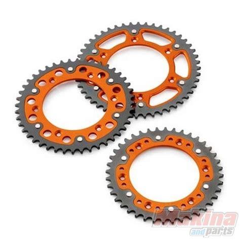 Ktm Chain And Sprockets 5841005105004 Rear Sprocket Stealth Orange Ktm