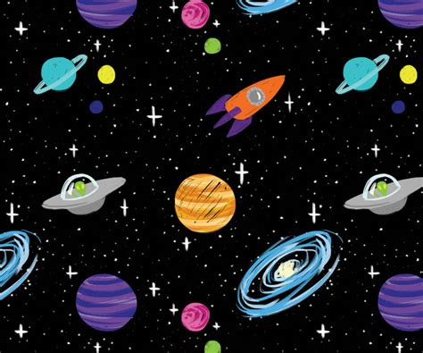 50  Free Space Patterns for Fun and Website