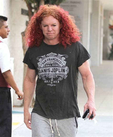 carrot top hairstyles carrot top carrot top stops by a doctors office in beverly