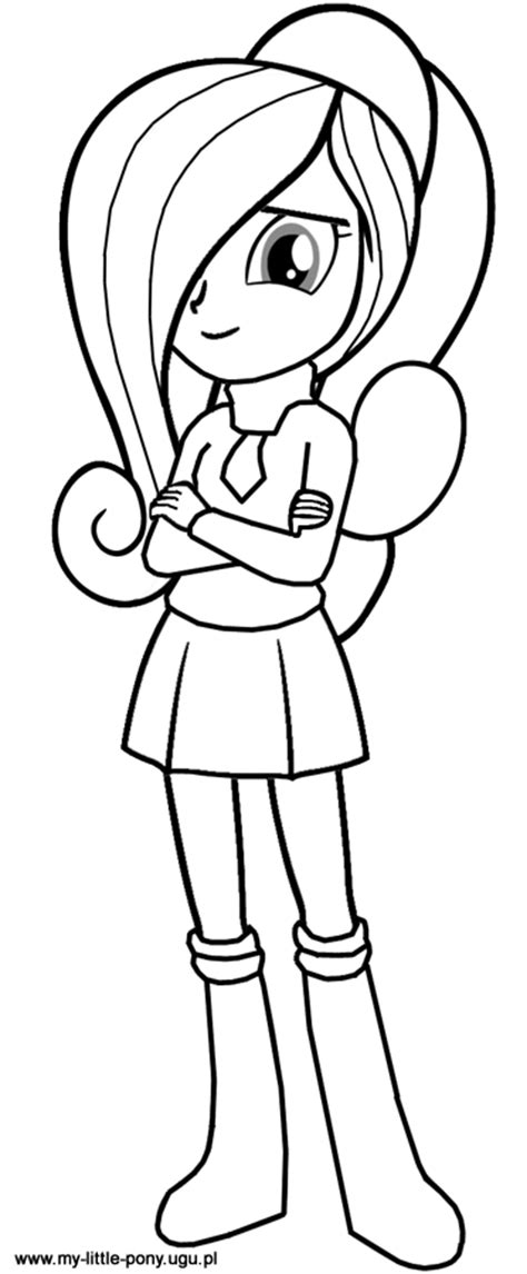 My Little Pony Rarity Equestria Girls Coloring Pages Rarity Equestria Coloring Page Free