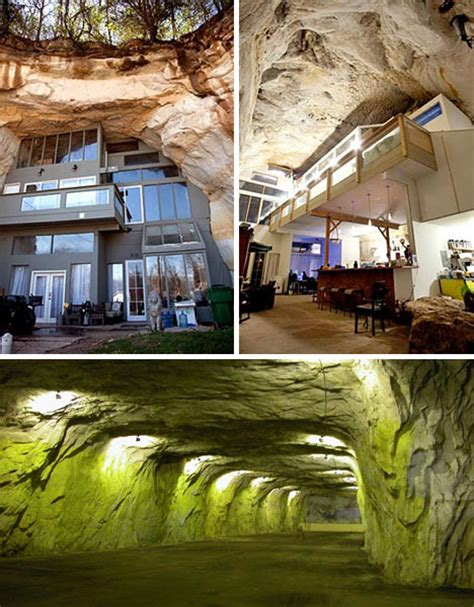 cave house unique modern underground mega home