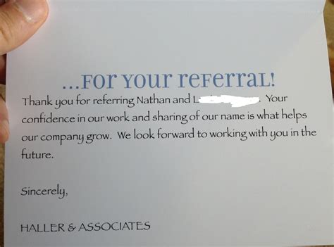 Thank You Letter Referral keller williams business card templates business card sle