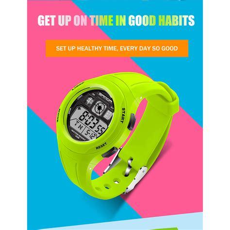 sanda jam tangan sporty anak sd 331 black jakartanotebook
