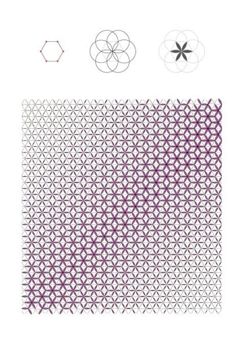 image pattern grasshopper hexagon circle pattern grasshopper nice drawing