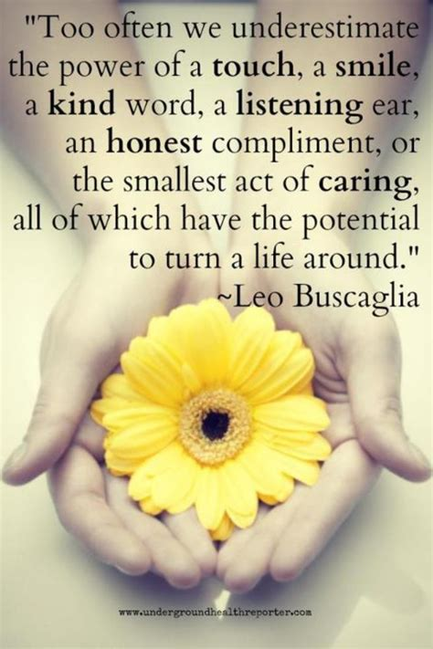 saying it well touching others with your words the power of touch quotes quotesgram