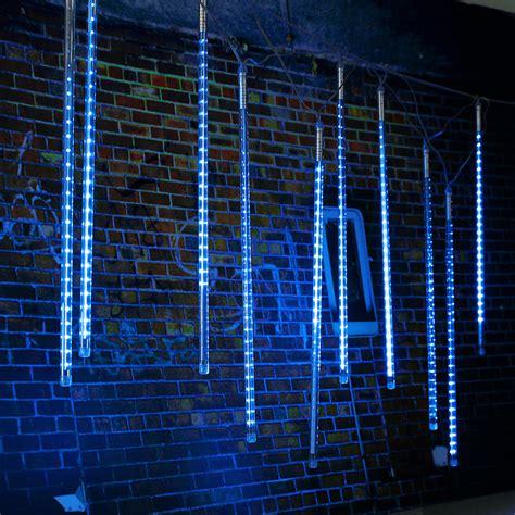 Meteor Shower Led by 10 X 50cm Led Meteor Shower Lights Waterproof