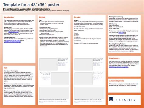 research report powerpoint template 10 powerpoint poster templates free sle exle