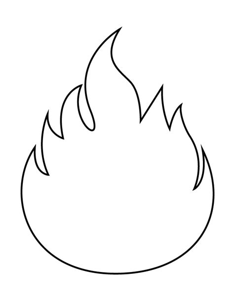 candle flame coloring pages coloring pages