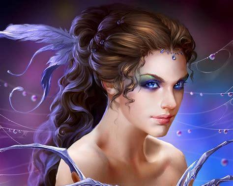 womens haircut fantasies fantasy girl art fantasy beautiful girl magical colors