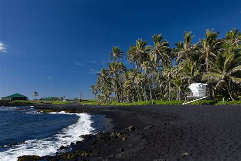 punaluu beach 12 most beautiful black sand beaches in the world