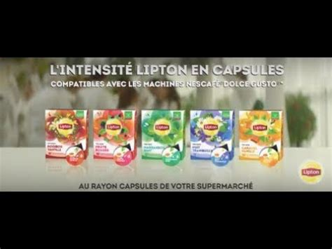Dosette To Lipton by Les Capsules De Th 233 S Et Infusion Lipton Compatibles