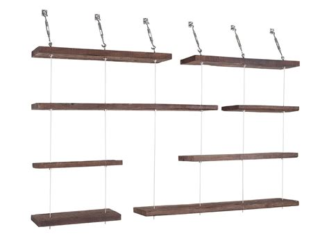 Suspended Shelf by Turnbuckle Floating Shelves The Awesomer