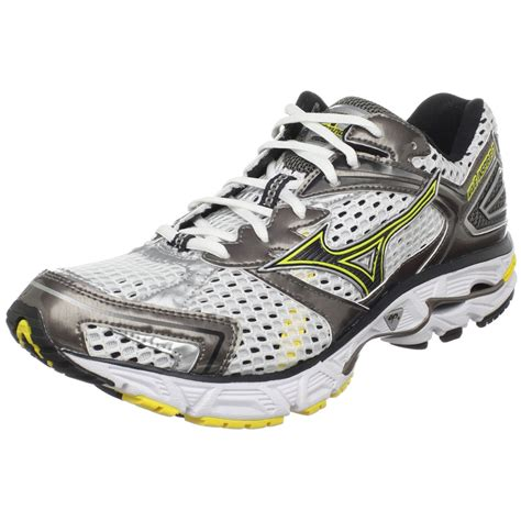 running shoe mizuno mizuno mens wave inspire 7 running shoe in white for