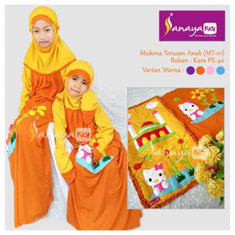 Mukena Anak Flower Tas Sajadah produsen mukena anak sanayakids 0857 1010 6161 mukena