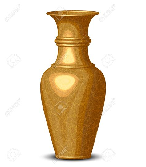 Free Vase by Gold Vase Clipart