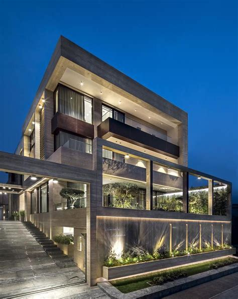 reddy villa zz architects  indias leading luxury