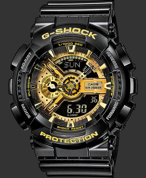 Casio Ga 110 Gb ga 110gb 1aer nero orologi casio g shock