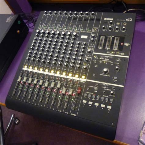 Mixer Yamaha N12 yamaha n12 professional digital audio recorder mixer