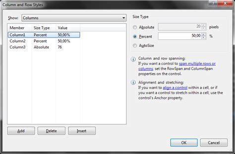 qt table layout panel programowanie w net 70 511 rozdział 4 kontenery w