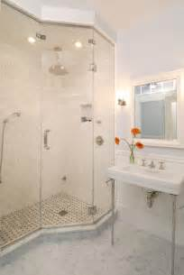 Shower Ideas For Bathrooms Tiled Showers Ideas Bathroom Traditional With Chandelier