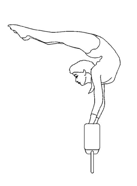 get this printable gymnastics coloring pages 4auxs