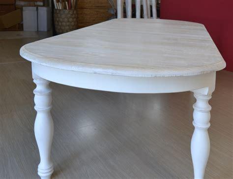 tavoli bianchi decapati tavolo ovale bianco shabby chic allungabile tavoli
