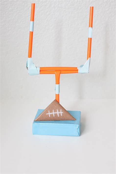 How Do You Make A Paper Football - gameday activity to keep busy all for the boys