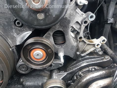Reparaturanleitung Audi A6 4b by Audi A6 4b 2 5tdi Riemenspanner Schwingungsd 228 Mpfer