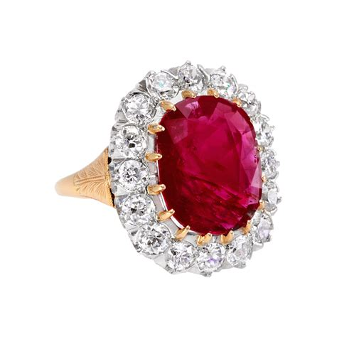 estate betteridge collection 6 21 carat ruby