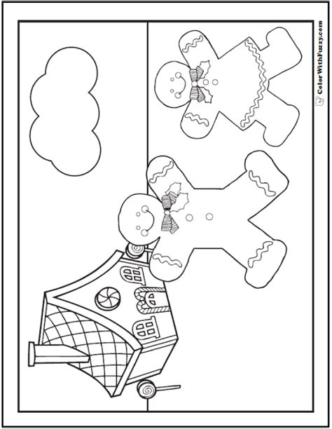 gingerbread man coloring page pdf gingerbread man coloring page pdf coloring page for kids