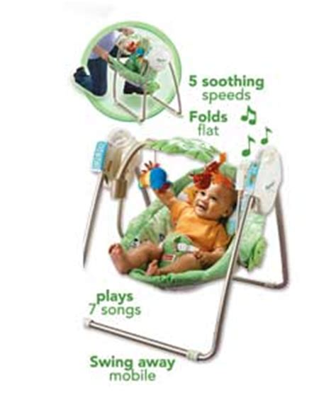 fisher price rainforest open top take along baby swing fisher price baby bouncers reviews