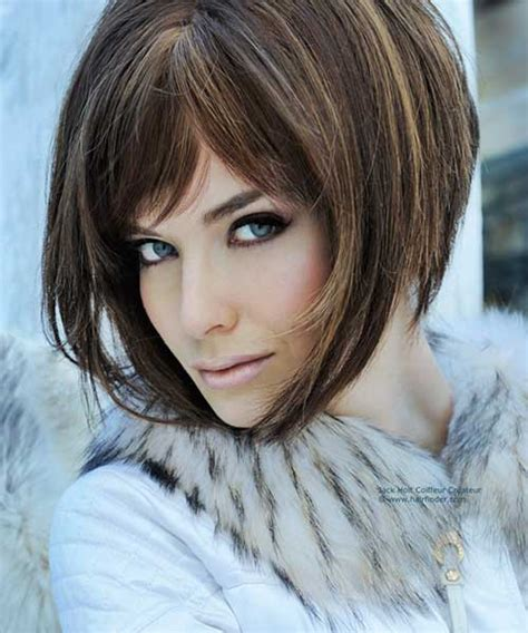 hairstyles with angled bangs 20 best angled bob hairstyles short hairstyles 2017