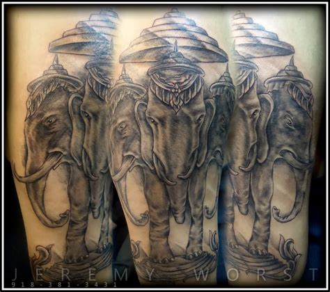 3 elephant tattoo elephant images designs