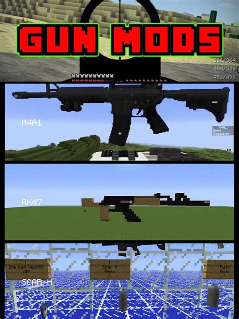 minecraft gun mod game online guns edition mods guide for minecraft pc game free apprecs