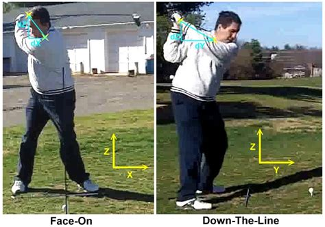 right side golf swing leecommotion the right side swing