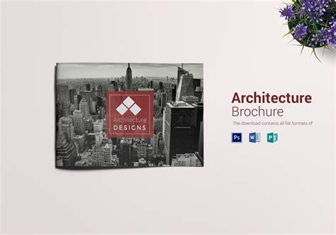 architecture brochure template architecture brochure landscape design template in psd